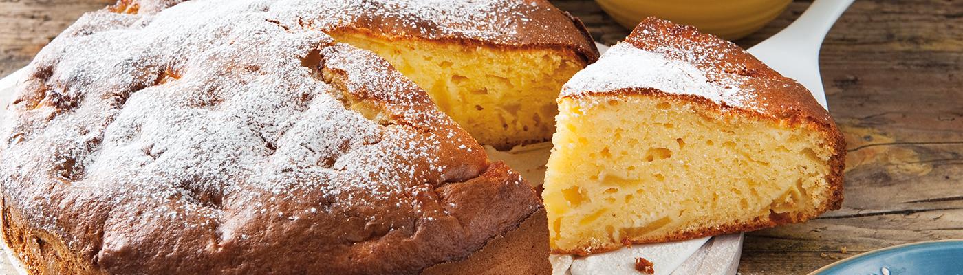 Jablečný koláč s mascarpone